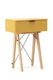 Wielofunkcyjna MINI konsola do hallu lub salonu. Idealnie posłuży jako stolik do odłożenia drobiazgów lub wyeksponuje świeże kwiaty. Wykonana ręcznie...