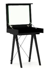 Toaletka MINI - stelaż BLACK