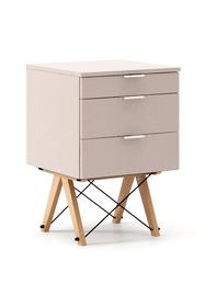 KONTENER BASIC kolor DUSTY PINK stelaż BUK (standard)  Praktyczny kontener jako pomocnik do biurka, lub samodzielna szafka z szufladami. Wykonany ręcznie...