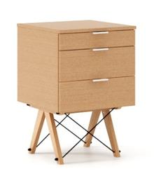 KONTENER BASIC LUXURY WOOD blat BUK stelaż BUK (standard)  Praktyczny kontener jako pomocnik do biurka, lub samodzielna szafka z szufladami. Wykonany...
