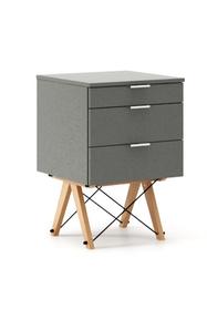 KONTENER KIDS basic kolor GREY stelaż BUK (standard)  Mini-kontener do dziecięcego biurka, lub samodzielna szafka z szufladami, np. do postawienia przy...