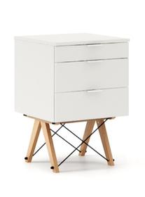 KONTENER KIDS basic kolor WHITE stelaż BUK (standard)  Mini-kontener do dziecięcego biurka, lub samodzielna szafka z szufladami, np. do postawienia przy...