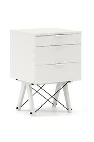 KONTENER KIDS basic kolor WHITE stelaż BUK WHITE  Mini-kontener do dziecięcego biurka, lub samodzielna szafka z szufladami, np. do postawienia przy...
