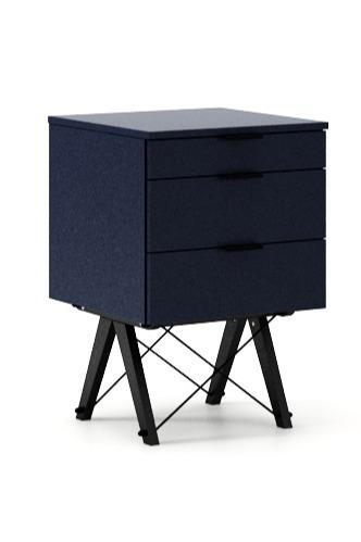 KONTENER KIDS basic LUXURY WOOD blat BUK stelaż BUK (standard)  Mini-kontener do dziecięcego biurka, lub samodzielna szafka z szufladami, np. do...