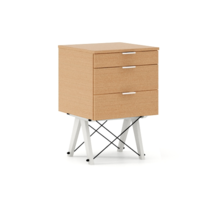 Praktyczny kontener jako pomocnik do biurka, lub samodzielna szafka z szufladami. Tutaj wersja LUXURY. Dostępny w szerokiej gamie naturalnych fornirów,...