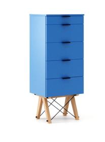 KOMODA TALLBOY TALL LUXURY COLORS stelaż BUK (standard)  Komoda w formie szufladnika TALLBOY. Idealnie posłuży jako bieliźniarka w sypialni lub pokoju...