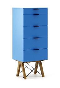 KOMODA TALLBOY TALL LUXURY COLORS stelaż DĄB  Komoda w formie szufladnika TALLBOY. Idealnie posłuży jako bieliźniarka w sypialni lub pokoju dziecka....