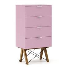 Komoda w formie szufladnika TALLBOY. Idealnie posłuży jako bieliźniarka w sypialni lub pokoju dziecka. Smukła forma i praktyczne szuflady uczynią ten...