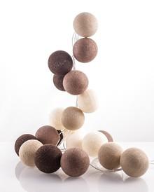 Zestaw Cotton balls Kawowy aromat 20 kul