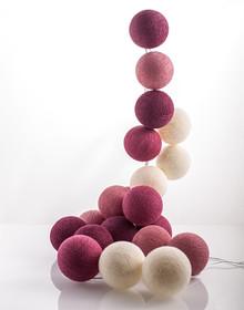Zestaw Cotton balls Różowa Pantera 35 kul