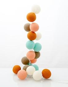 Zestaw Cotton balls Tajemniczy Ogród 20 kul