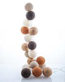 Zestaw Cotton balls Złota Jesień 20 kul