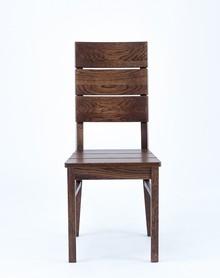 Drewniane, dębowe krzesło Insignio  Wysokość : 95 cm Szerokość : 44 cm Głębokość : 42 cm Wysokość siedziska: 48 cm  Produkt wykonywany na...
