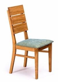 Krzesło INSIGNIO - dąb/tapicerka