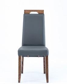 Drewniane, dębowe krzesło Negro  Wysokość : 100 cm Szerokość : 45 cm Głębokość : 41 cm Wysokość siedziska: 49 cm  Produkt wykonywany na...