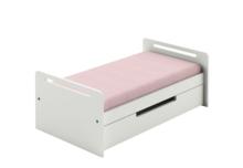 Stylowy i wygodny materac do łóżeczka - tapczanika z kolekcji Simple, wykonany z pianki elastycznej. Pokrowiec zdejmowany do prania. Dostępny jest w...