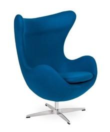 Fotel EGG CLASSIC to klasyka sama w sobie.<br />Jeden z najbardziej znanych kształtów fotela.<br />Fotel tapicerowany jest Wełną...