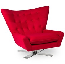 Fotel VINGS - czerwony