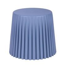 Stołek CAP - pastelowy niebieski