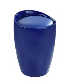 Stołek TUBO - niebieski