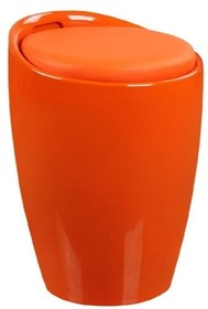 Stołek TUBO - pomarańczowy