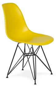 Krzesło DSR BLACK - oliwka