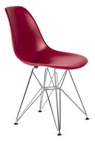 Siedzisko i oparcie wykonane z tworzywa sztucznego.<br />Nogi wykonane ze stali polerowanej na wysoki połysk.<br />Waga netto 1 szt.: 3.50...