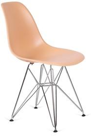 Krzesło DSR SILVER - ciepły kremowy