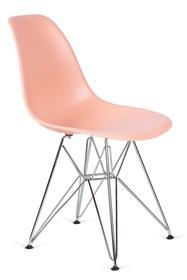 Krzesło DSR SILVER - łososiowy