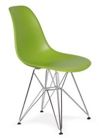 Krzesło DSR SILVER - soczysta zieleń