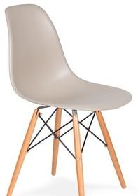 Krzesło DSW WOOD - beżowy