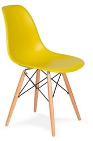 Krzesło DSW WOOD - oliwkowy