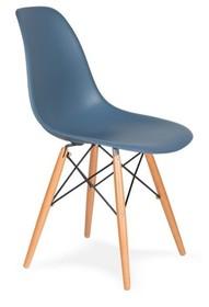 Krzesło DSW WOOD - pastelowy niebieski