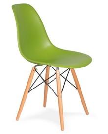 Krzesło DSW WOOD - soczysta zieleń