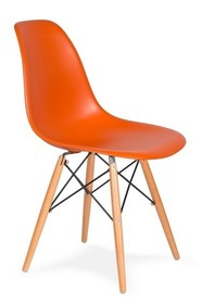 Krzesło DSW WOOD - sycylijski pomarańcz