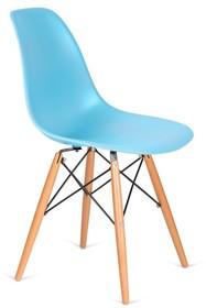 Siedzisko i oparcie tworzywo sztuczne<br />Nogi drewno bukowe, łączenia stal lakierowana na czarno<br />Waga netto 1 szt.: 3.50 kg<br...
