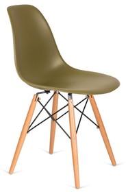 Krzesło DSW WOOD - zielona herbata