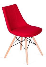 Krzesło tapicerowane wełną kaszmirową.<br />Nogi drewno bukowe, łączenia lakierowane na czarny mat.<br />Waga netto 1 szt.: 4 kg<br...