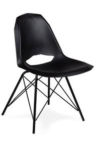 Krzesło z tworzywa sztucznego.<br />Nogi stal nierdzewna.<br />Waga netto 1 szt.: 6 kg<br />Waga opakowania: 7 kg<br />Maksymalna...