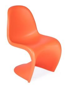 Krzesło HOVER pomarańczowe - polipropylen