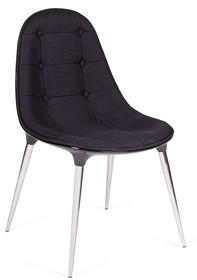 Krzesło PASSION tkanina - czarny