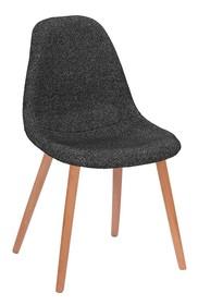 Krzesło PLUSH - zebra czarna