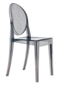 Krzesło w całości wykonane z poliwęglanu.<br />Waga netto 1 szt.: 4 kg<br />Waga opakowania: 5 kg<br />Maksymalna ilość szt. w...
