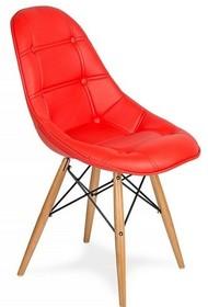 Krzesło EKO WOOD - krwisty czerwony