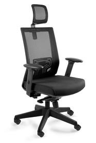 Obrotowy fotel NEZ to doskonała propozycja dla osób spędzających wiele godzin w pozycji siedzącej. Mechanizm MULTIBLOCK umożliwia zatrzymanie oparcia w...