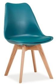 Krzesło KRIS dąb - morski
