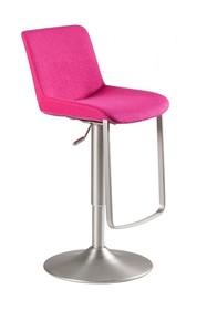 Cechy:  - obrotowe siedzisko wypełnione pianką tapicerowane tkaniną - podstawa wykonana z szczotkowanego metalu - regulacja wysokości - maksymalne...