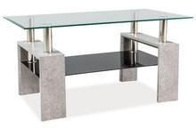 Elegancja i klasa! Ława Lisa II to mebel łączący w sobie nowoczesny design i szlachetne materiały. Dzięki zastosowanym materiałom oraz prostej formie...