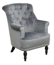 Komfort w stylowym wydaniu!  Bardzo wygodny klasyczny fotel NICOLE Stelaż drewniany. Siedzisko: sprężyna falista, bonell oraz pianka poliuretanowa....