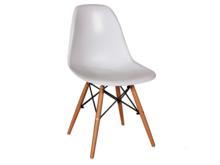 Białe krzesło inspirowane DSW w stylu skandynawskim. Dzięki pięknej nowoczesnej formie siedziska i nietuzinkowym nóżkom są lekkimi i bardzo...
